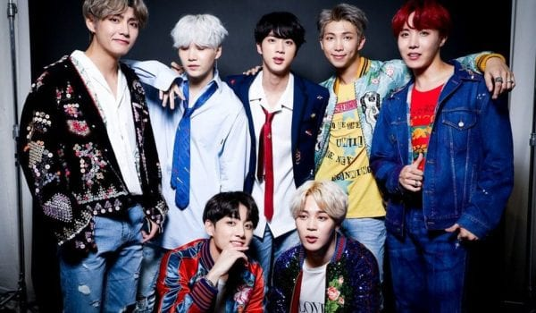 K-pop band BTS are getting their own movie!