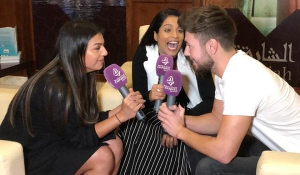 Super Woman chatting to JJ & Nimi about How To Be A Bawse 🙌🏼