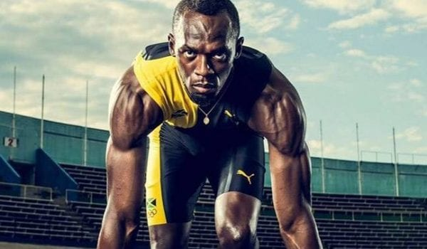 Usain Bolt still wants to be a football player!