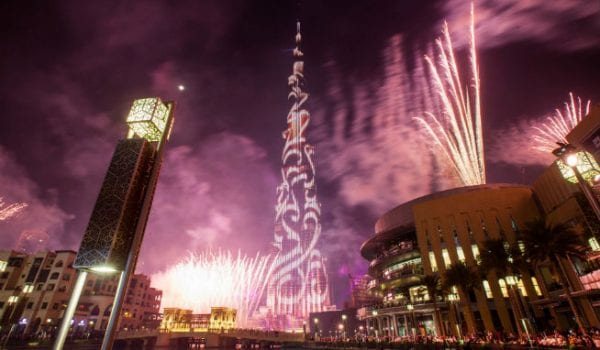 Share your message on Burj Khalifa this New Year's!