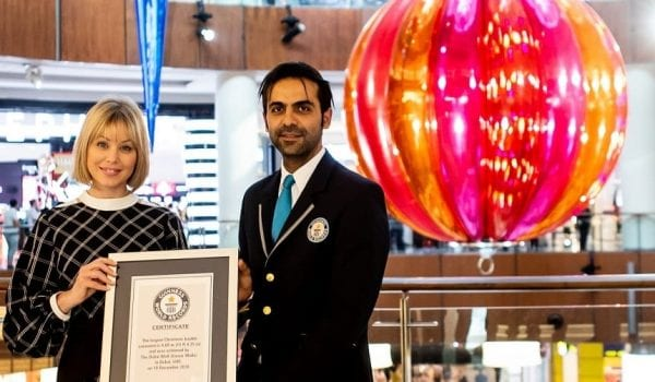 Dubai sets another world record this Christmas!