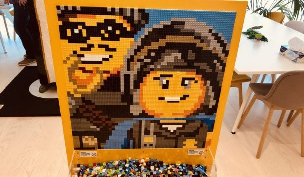This office is made out of Lego!