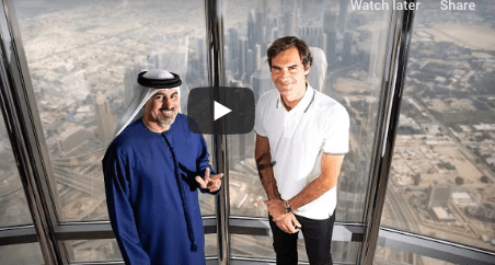 Roger Federer shares his best moment in Dubai