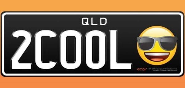 how cool are these Emoji number plates!