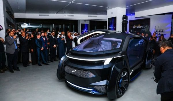 UAE unveils its first autonomous vehicle!