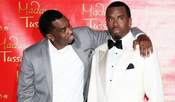 P Diddy's wax figure has lost its head!