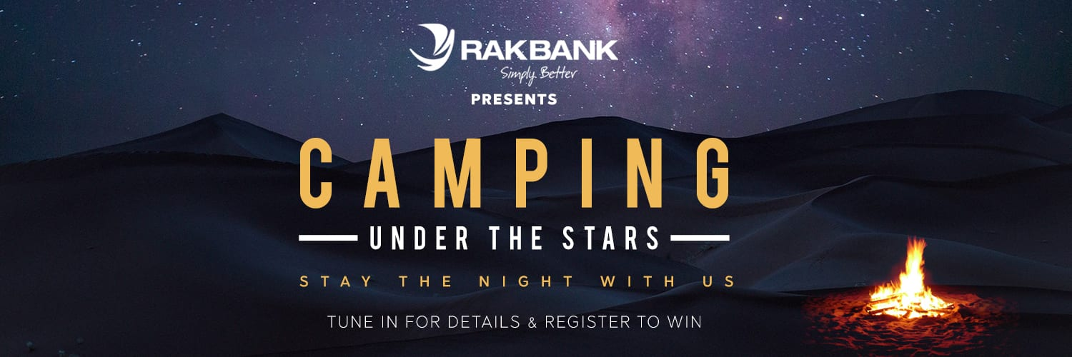 Camping Under the stars with RAKBANK