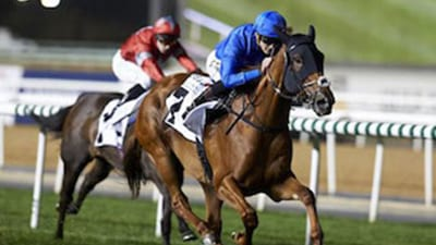 Godolphin wins the Dubai World Cup again!