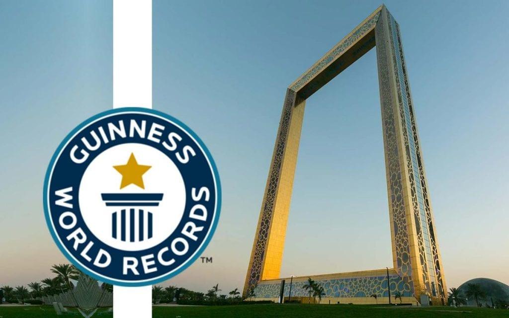 Guinness World Records The Dubai Frame