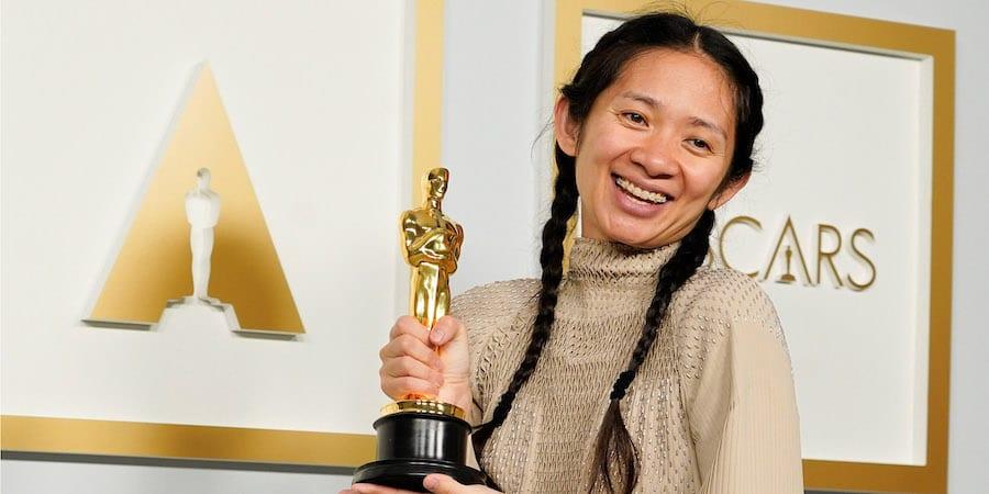 "Chloe Zhao, ""Nomadland"" *WINNER"