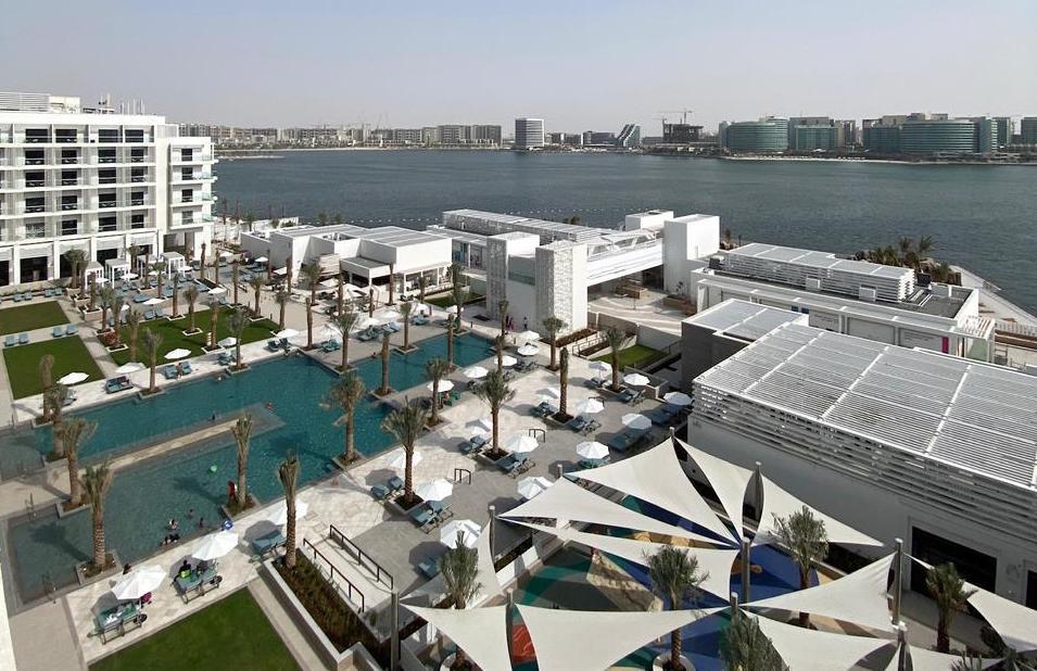 the brand new HILTON HOTEL Yas Island Abu Dhabi