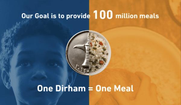 THE 100 MILLION MEALS CAMPAIGN