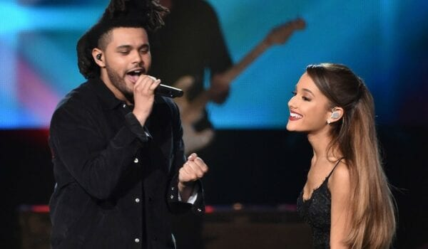 THE WEEKND AND ARIANA GRANDE TEASING A COLLAB?