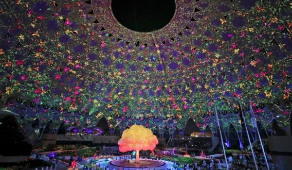 EXPO 2020 WELCOMES THE WORLD WITH A SPECTACULAR OPENING NIGHT