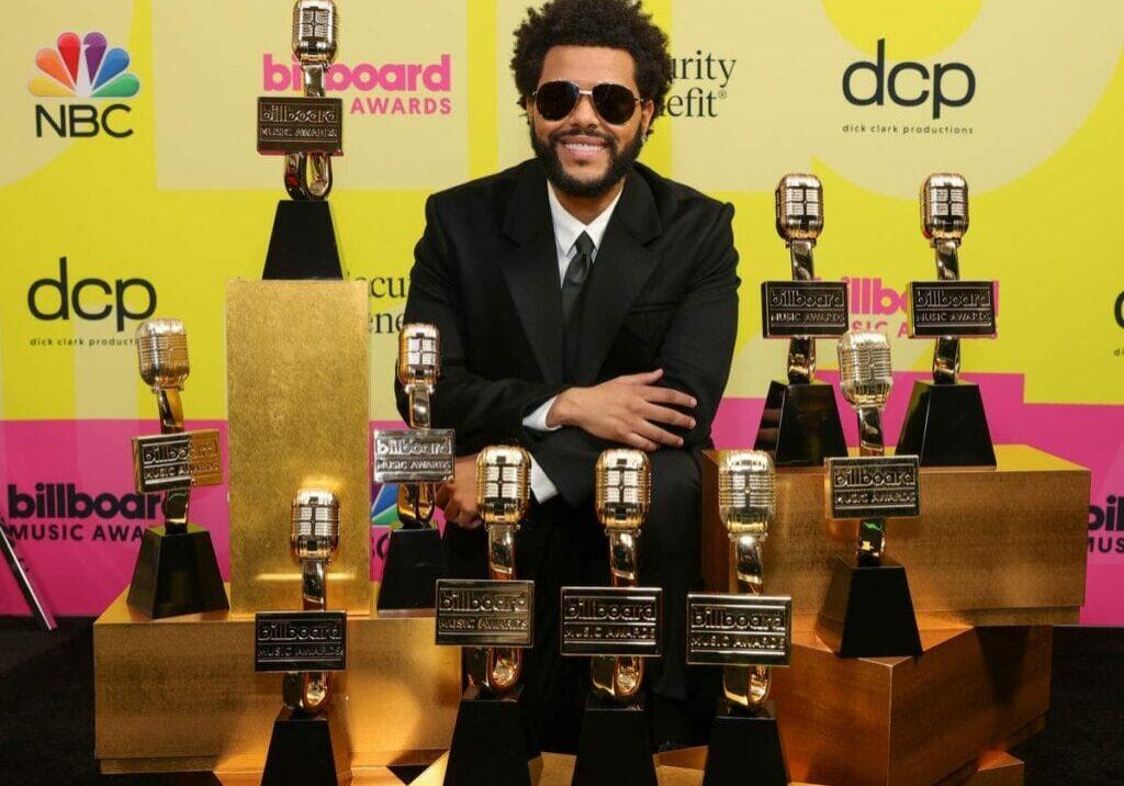 The Weeknd WINNING 10 AWARDS AT THE BILLBOARD MUSIC AWARDS 2021