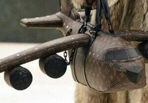 Louis Vuitton 40K DOLLAR AIRPLANE SHAPED BAG